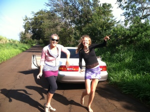 Spontaneous dance parties in the street with my friend Heidi!